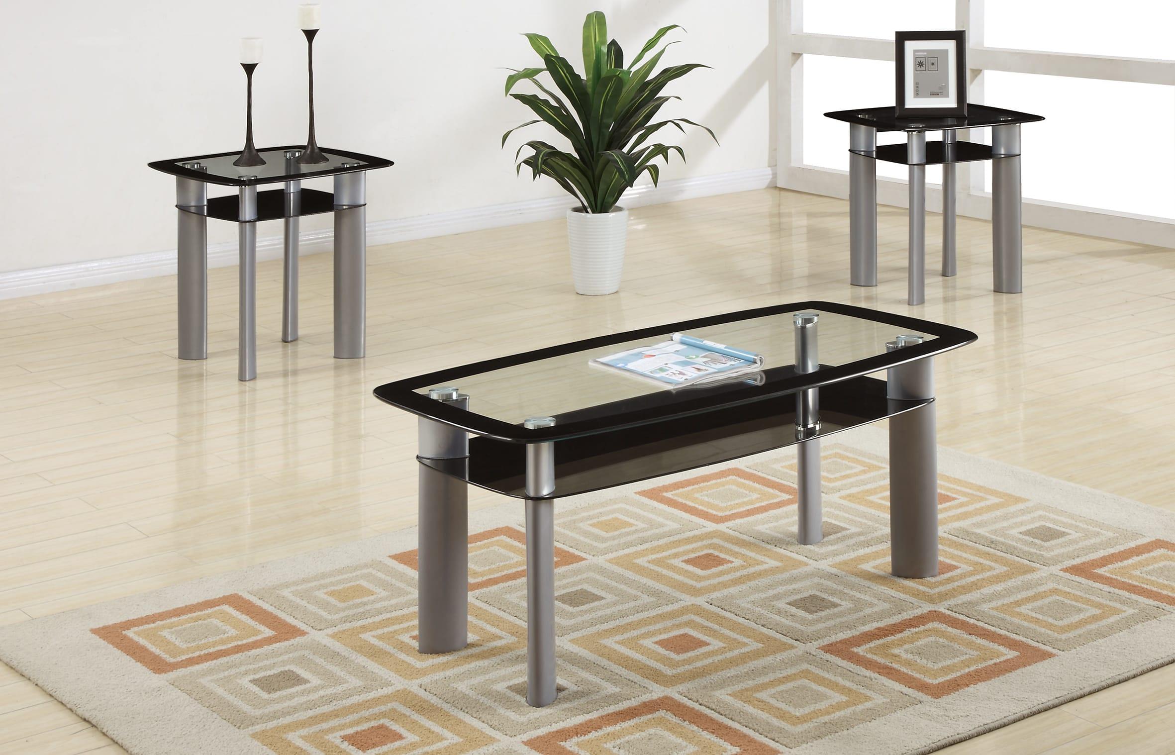 F3091 3 Pcs Table Set By Poundex