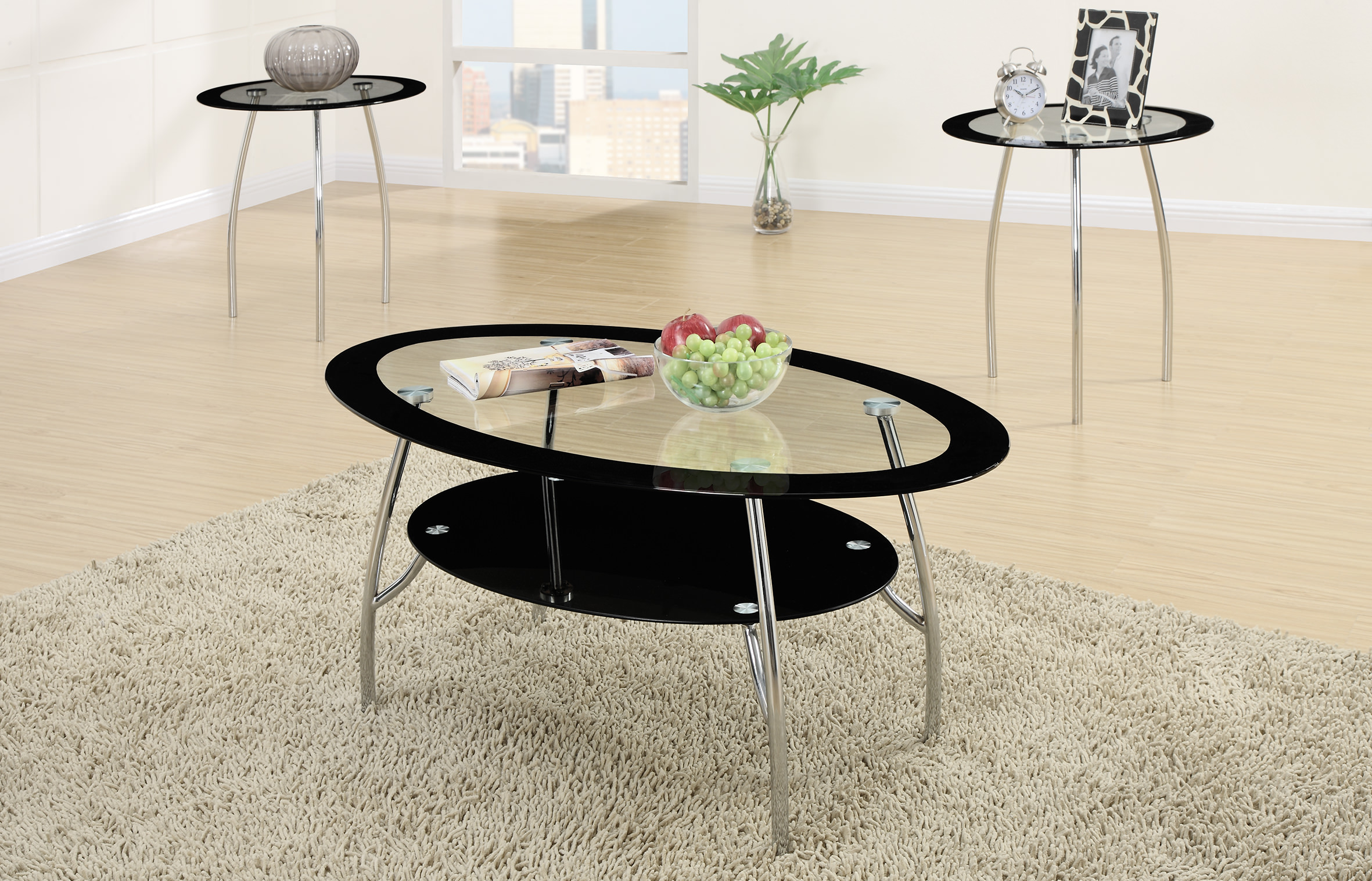 F3099 3 Pcs Table Set By Poundex