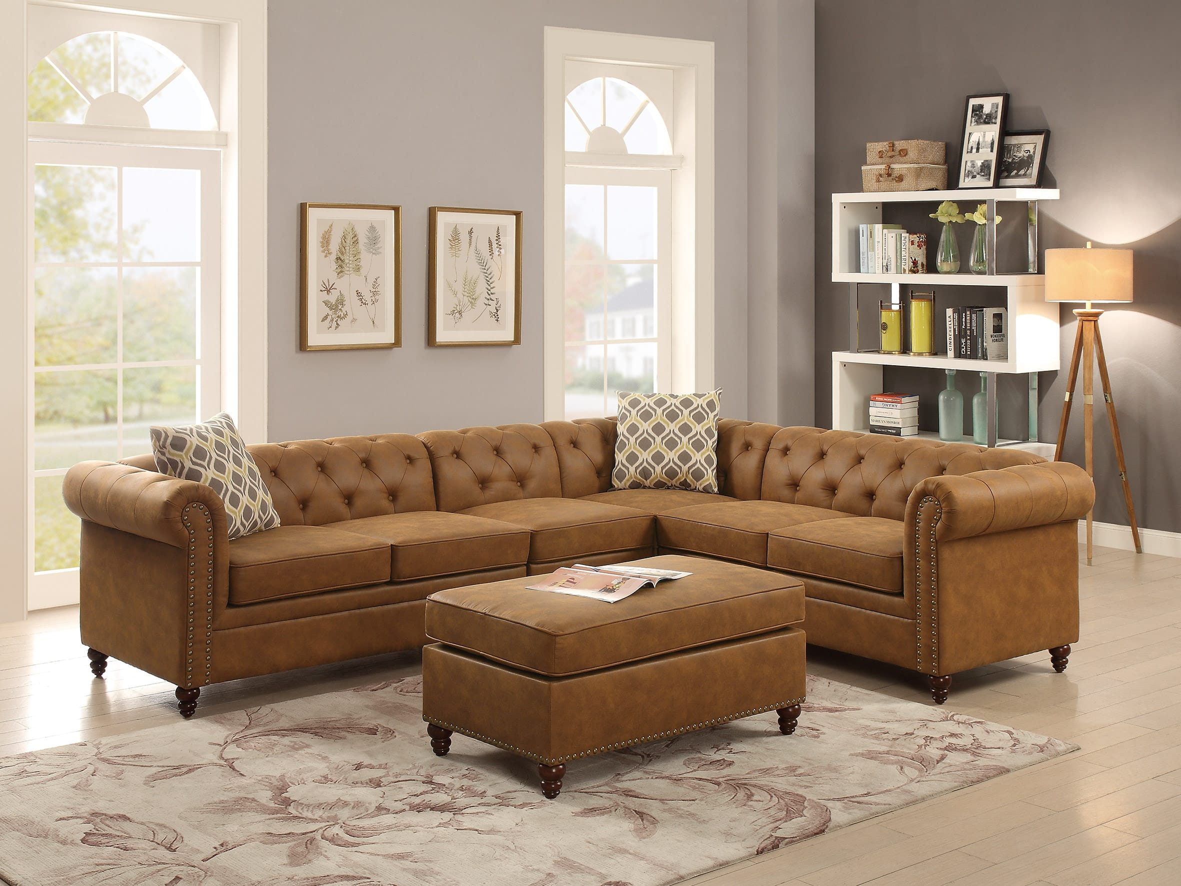 piece contemporary sectionals cresson benchcraft number cuddler item with modular products sectional