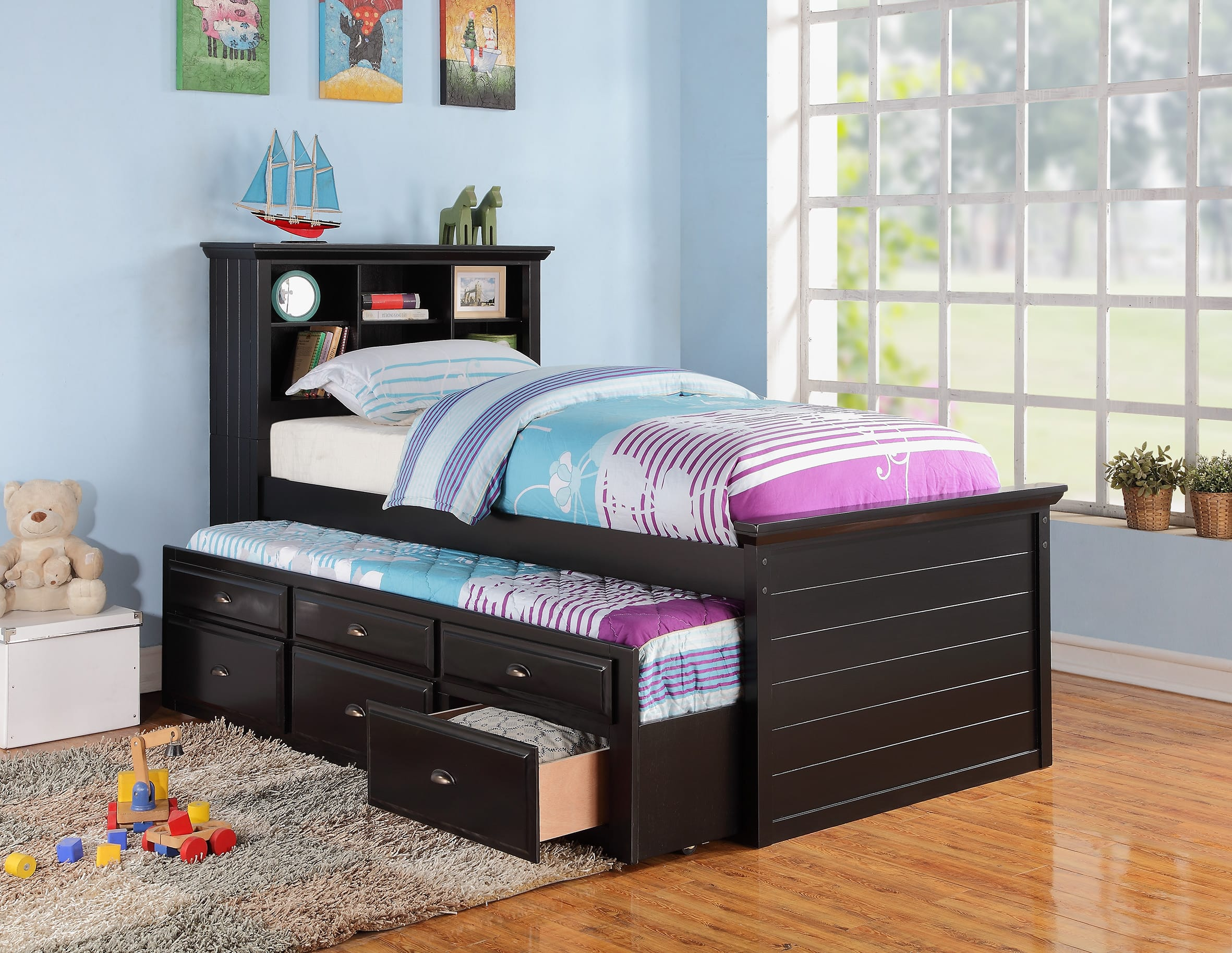 number item beds northeast bed products black coaster and headboards iron twin kyan