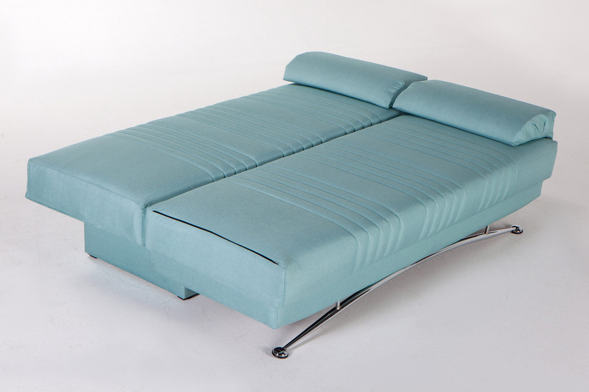 Fantasy Coton Seafoam Green Convertible Sofa Bed by Istikbal Furniture
