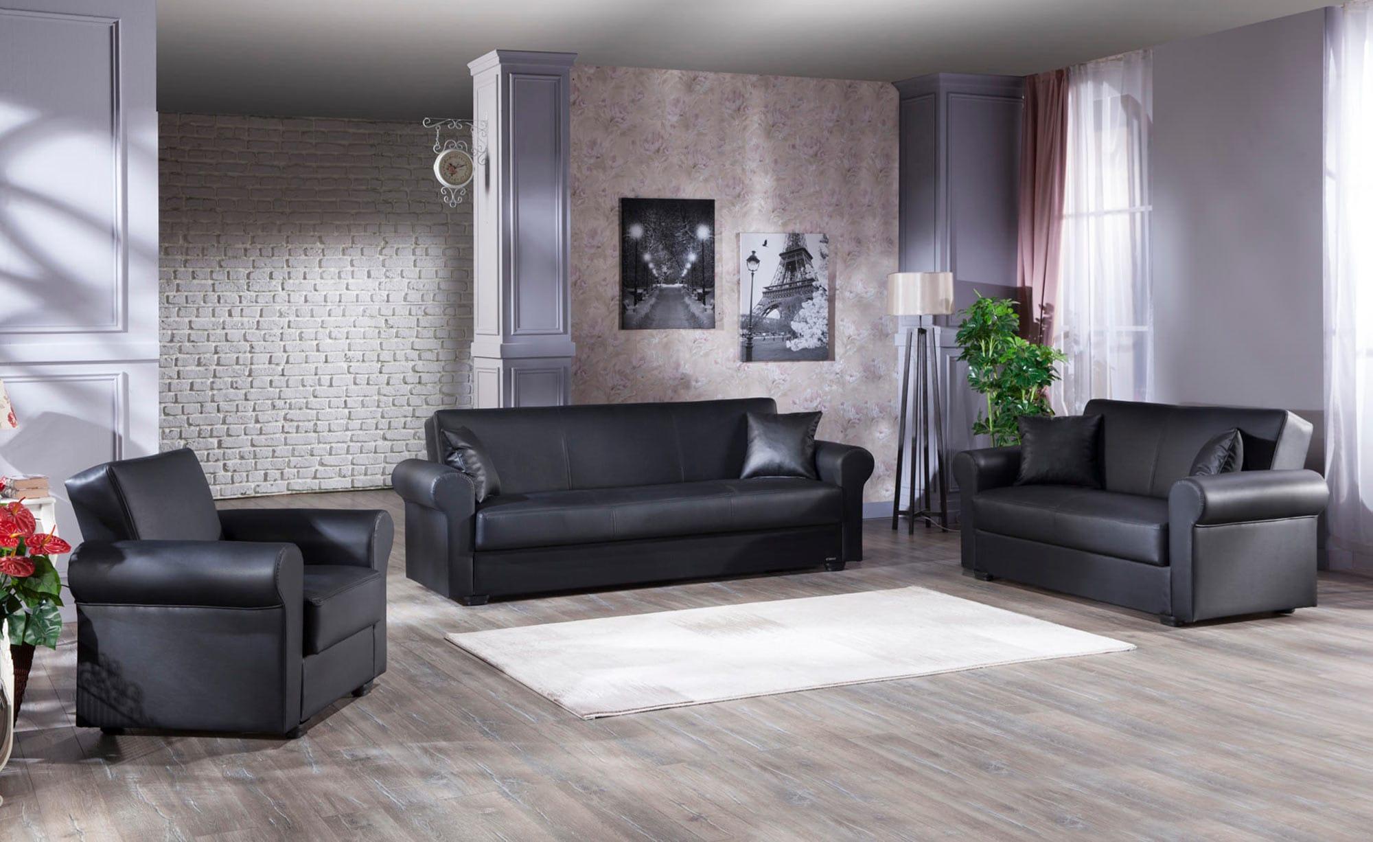 Prime Floris Santa Glory Black Sofa Love Chair Set By Istikbal Furniture Ibusinesslaw Wood Chair Design Ideas Ibusinesslaworg