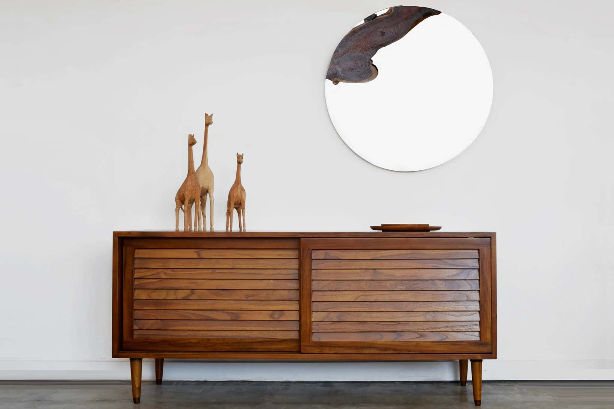 Ciao Small Box - Teak Wood/Tinted Finish by From the Source