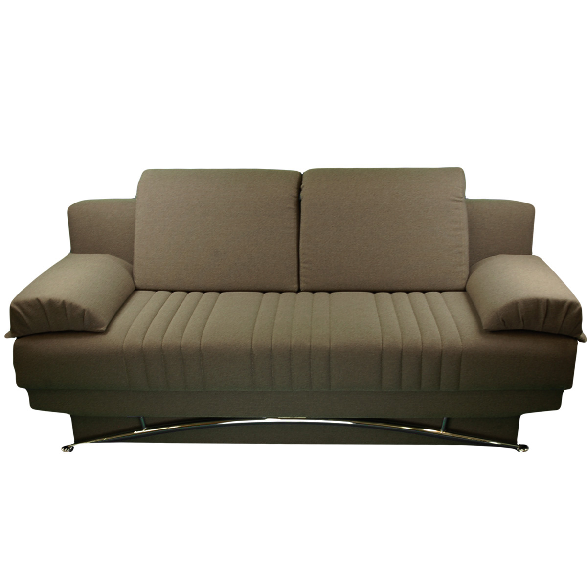 Fantasy Platin Light Brown Convertible Sofa Bed by Sunset
