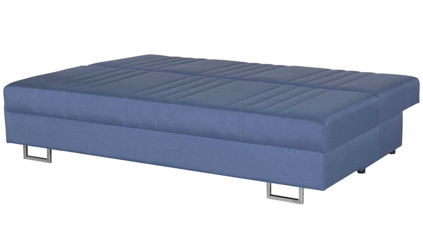 Flex motion blue queen sofa bed w storage by casamode for Sofa bed name