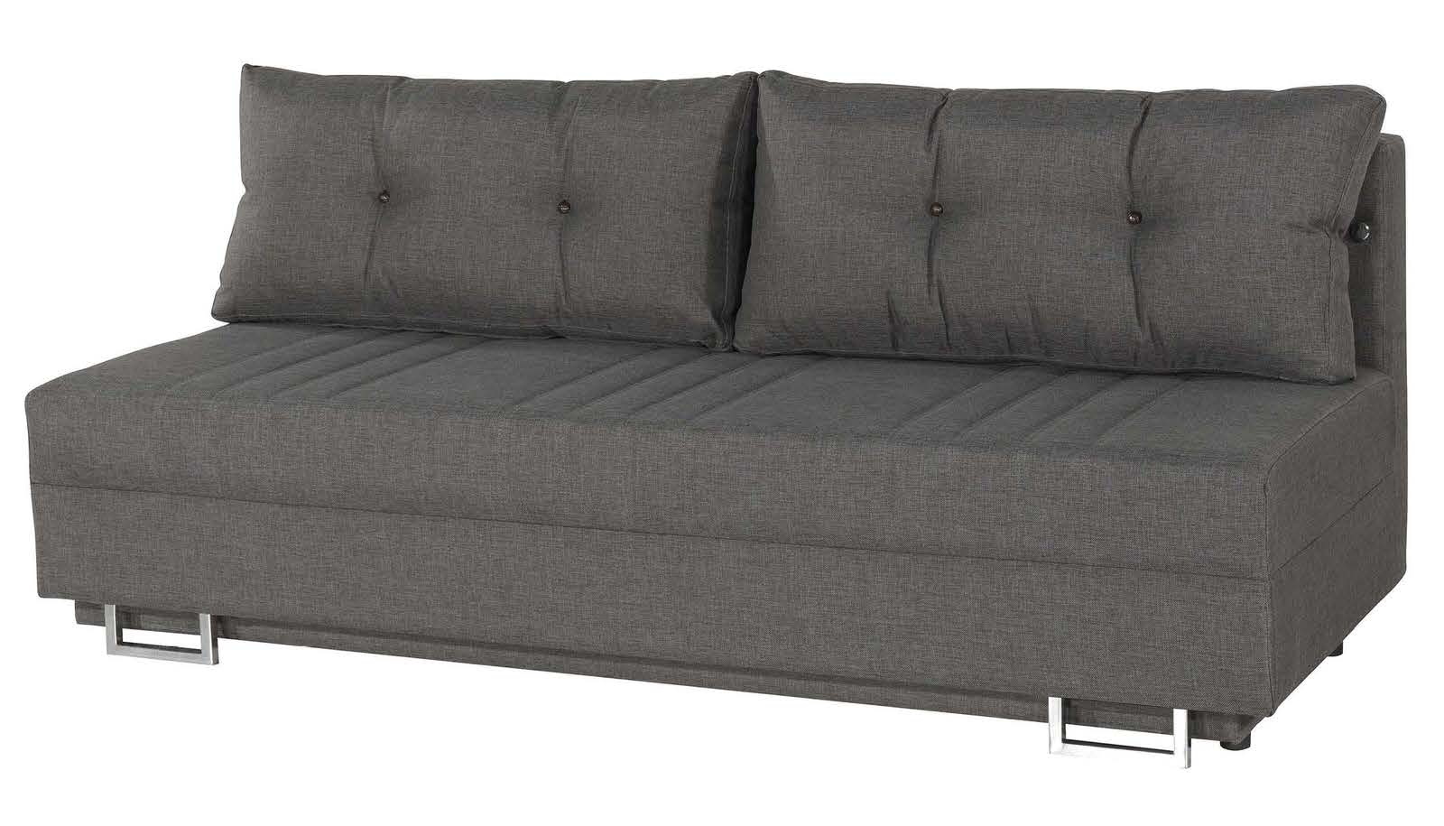 Flex motion gray queen sofa bed w storage by casamode for Sofa queen bed
