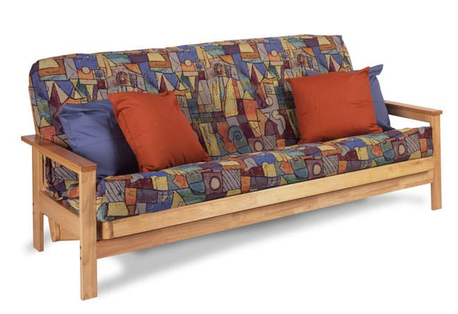 albany natural full futon frame by gold bond