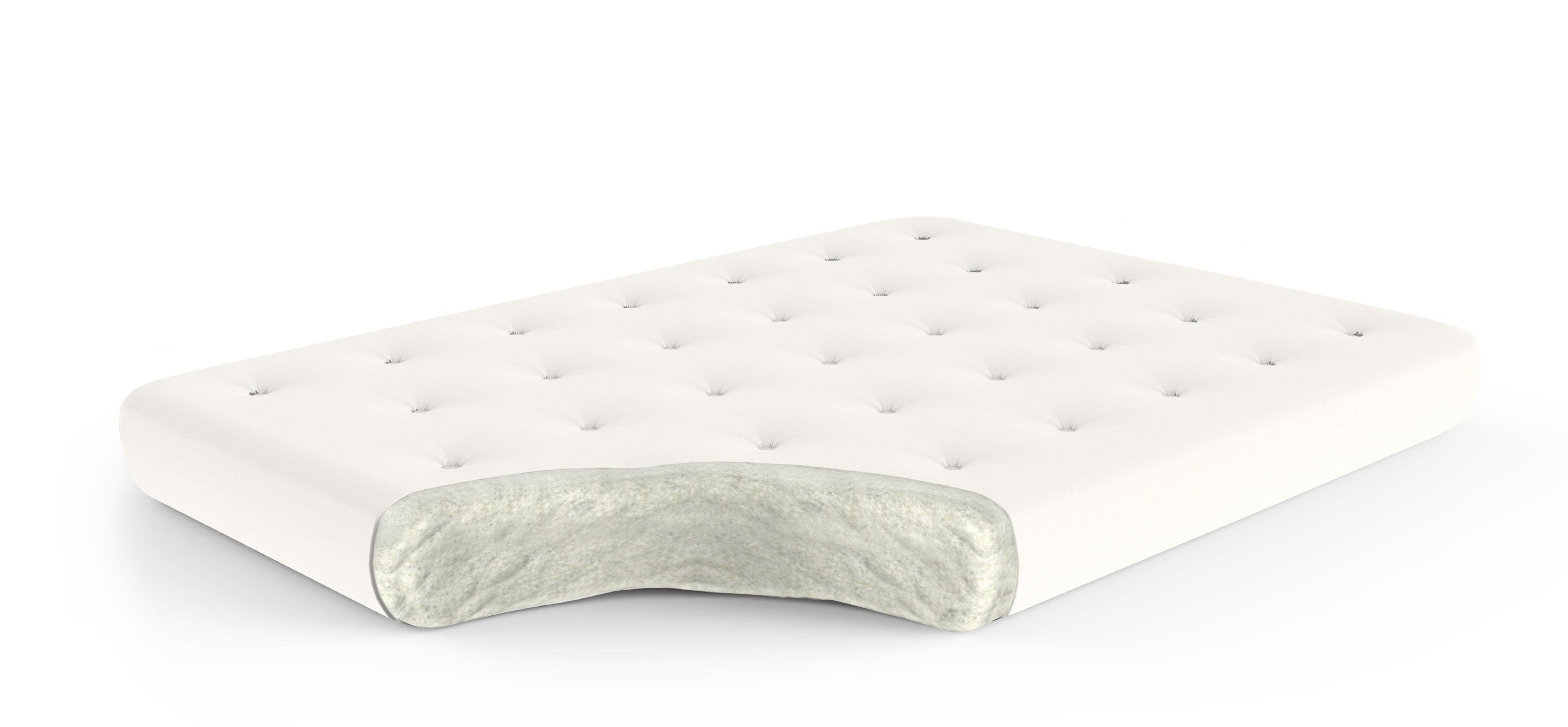 Cotton 4 Inch Futon Mattress By Gold Bond