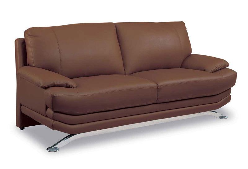 sofa 9250 brown leather matchby global furniture. Black Bedroom Furniture Sets. Home Design Ideas