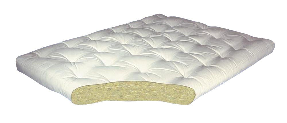 all cotton 4 inch futon mattress by gold bond  rh   futonland