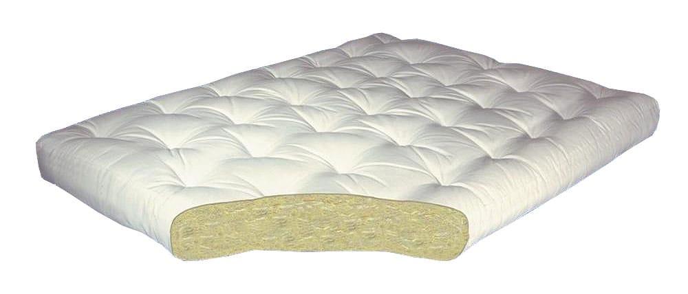all cotton 6 inch futon mattress by gold bond  rh   futonland
