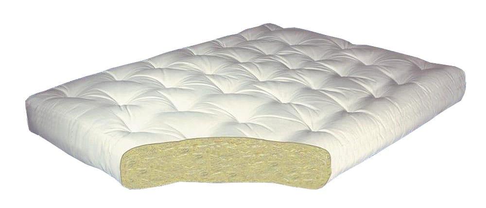 All Cotton 8 Inch Futon Mattress by Gold Bond