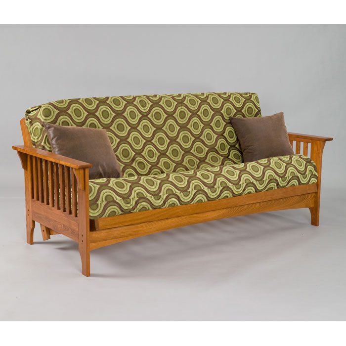Boston Cherry Oak Full Futon Set By Gold Bond