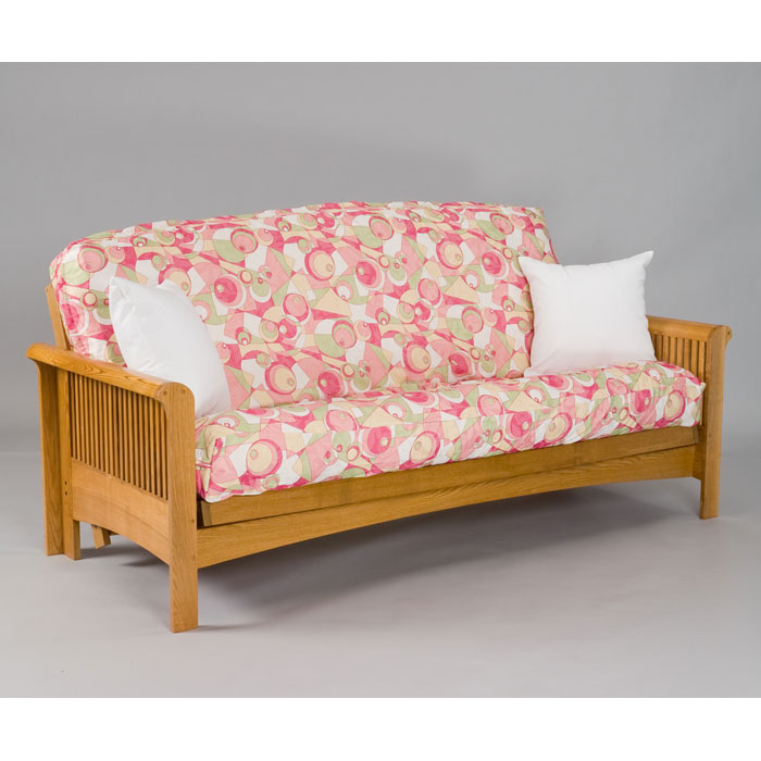 Cherry Oak Full Futon Set By Gold Bond