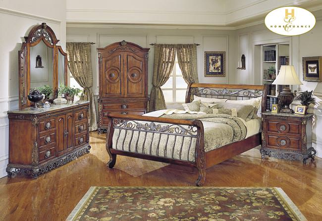 Barcelona Bedroom Set by Homelegance