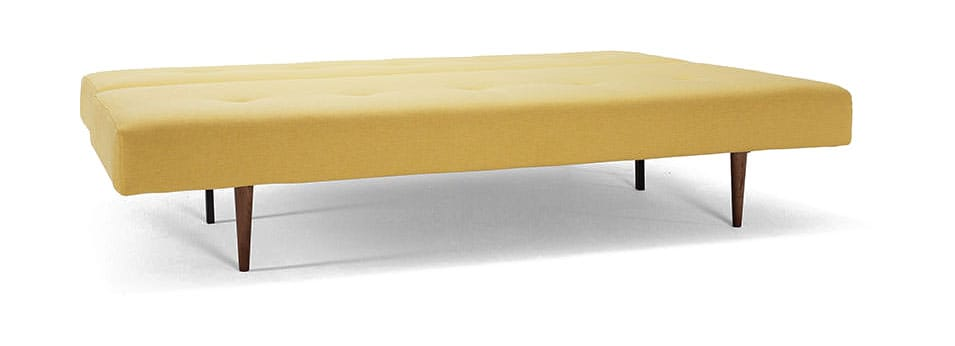 Recast Sofa Bed Full Size Soft Mustard Flower By Innovation