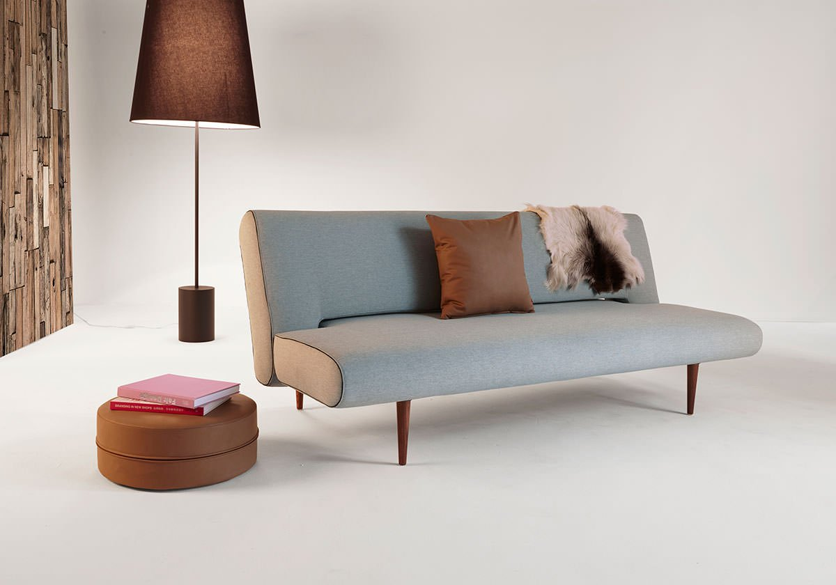 Unfurl Sofa Bed Heavy Natch Soft Pacific Pearl By Innovation