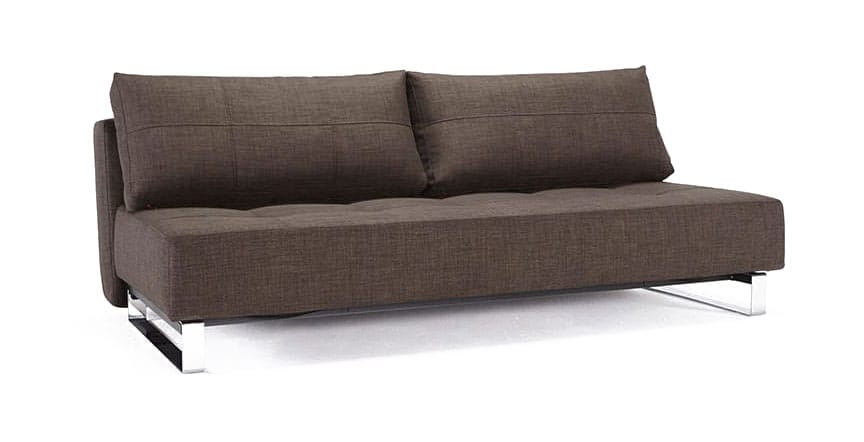 Supremax Deluxe Excess Sofa Bed (Queen Size) Begum Dark Brown by Innovation