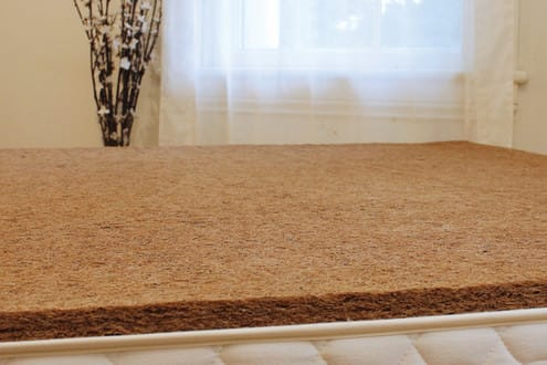 1 Inch Coconut Coir With Natural Latex Bed Rug By Savvy Rest