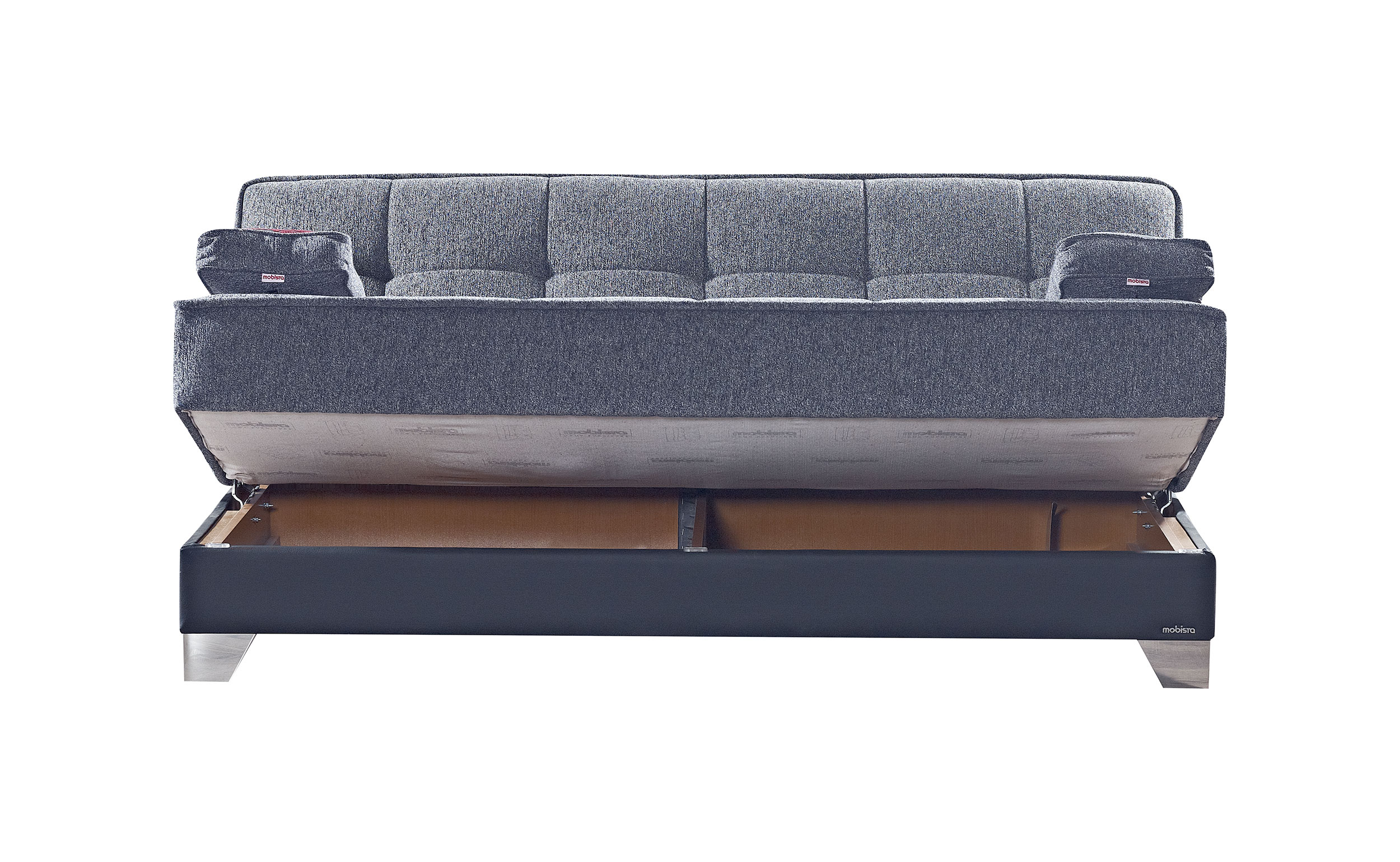 Inter mebel dulce gray sofa bed by mobista for Sofa bed 549 artek