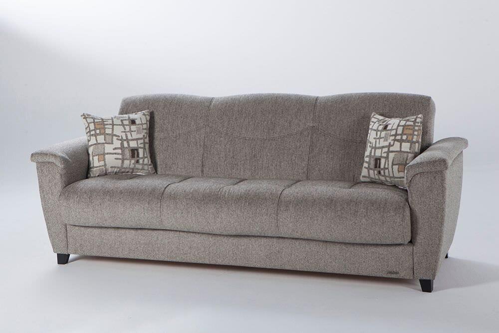 Pleasing Aspen Aristo Light Brown Convertible Sofa Bed By Istikbal Furniture Theyellowbook Wood Chair Design Ideas Theyellowbookinfo