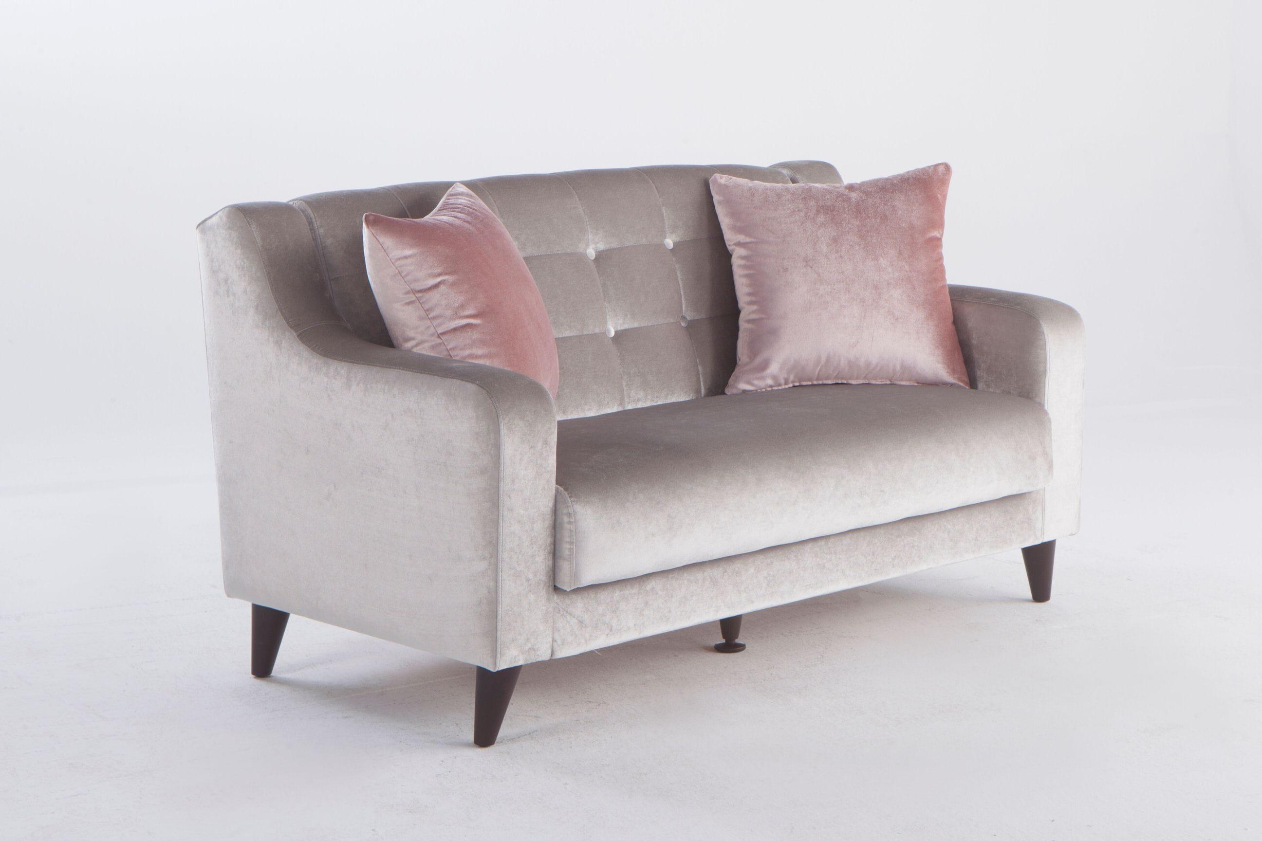 Brilliant Blair Deha Grey Sofa Love Chair Set By Istikbal Furniture Machost Co Dining Chair Design Ideas Machostcouk