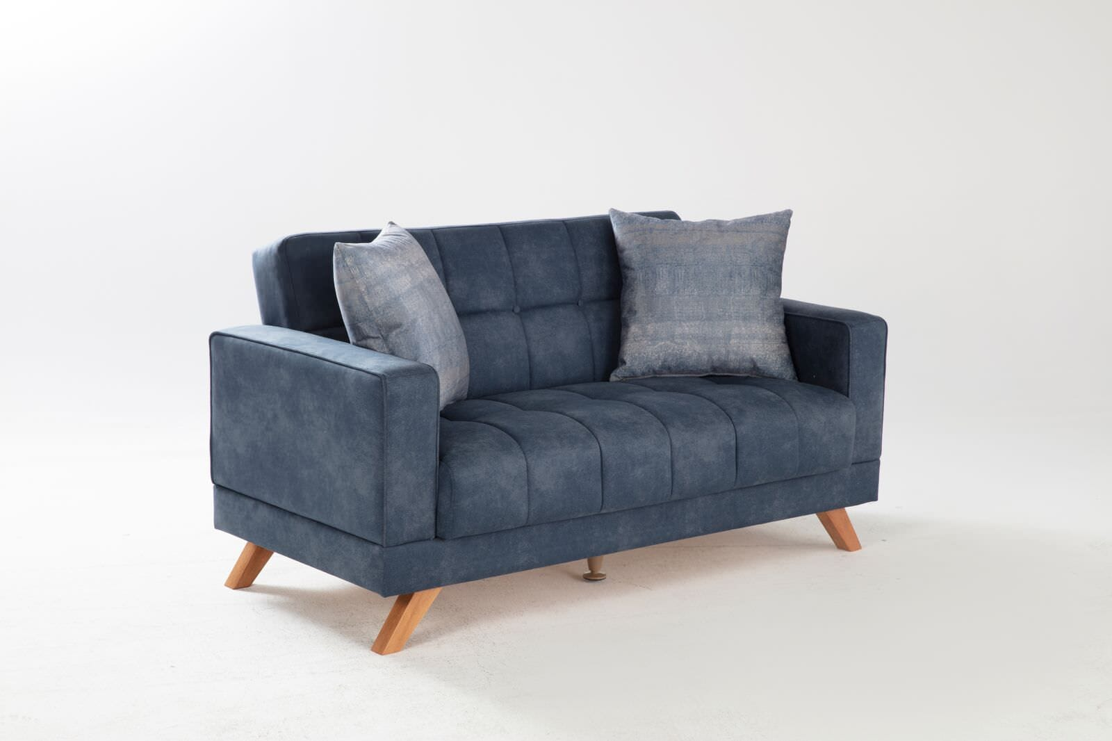 Excellent Montana Yakut Navy Loveseat By Istikbal Furniture Evergreenethics Interior Chair Design Evergreenethicsorg
