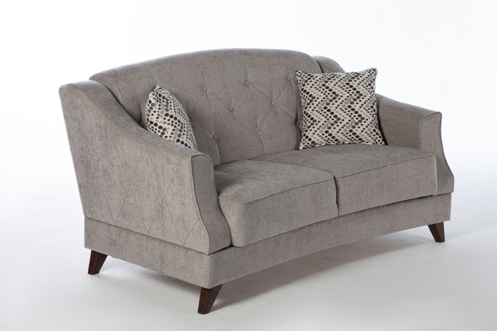 Strange Siena Valencia Grey Loveseat By Istikbal Furniture Gmtry Best Dining Table And Chair Ideas Images Gmtryco