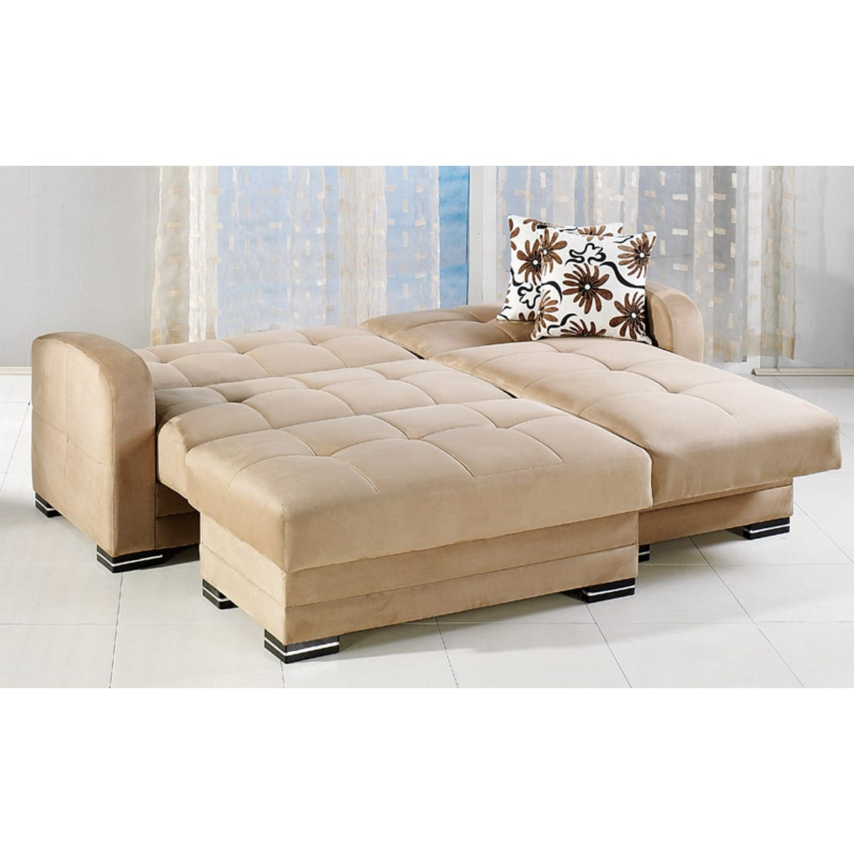 Beige sectional sofa roselawnlutheran for Beige sectional with chaise