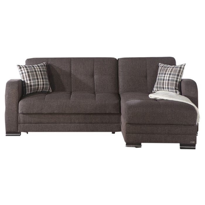 sc 1 st  Futonland : dark brown sectional couch - Sectionals, Sofas & Couches