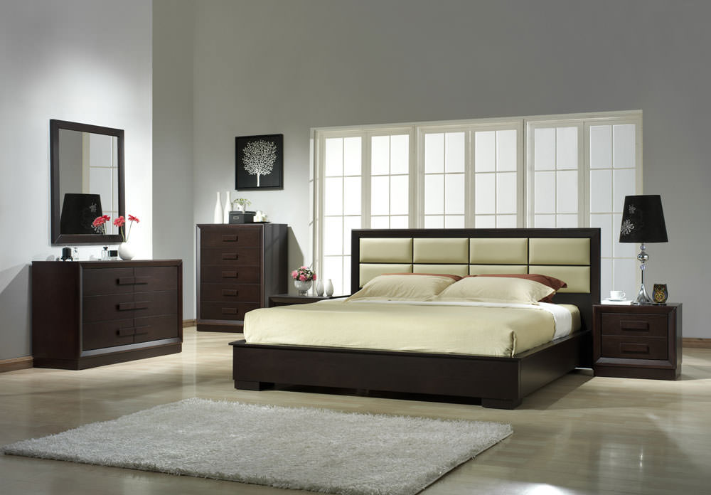 Boston Java Bedroom Set By J M Furniture