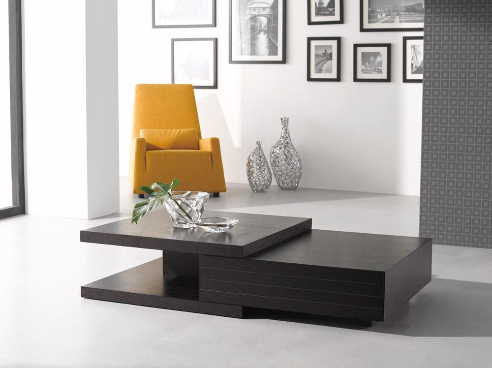 Modern coffee table hk 19 by j m furniture for Contemporary tables for living room