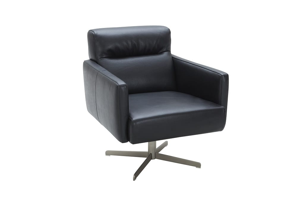 sc 1 st  Futonland & Jaeger Accent Chair Black by Ju0026M Furniture