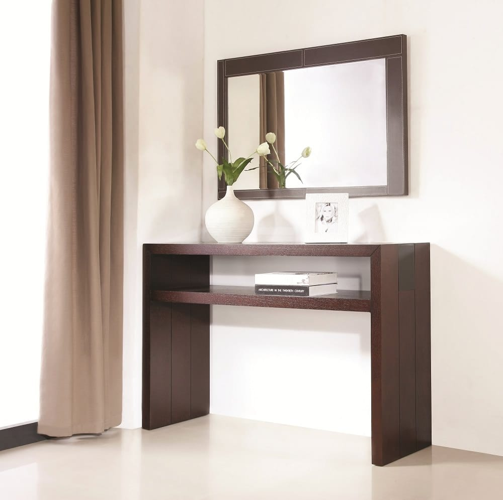 Jenny Console And Mirror Set By J M Furniture