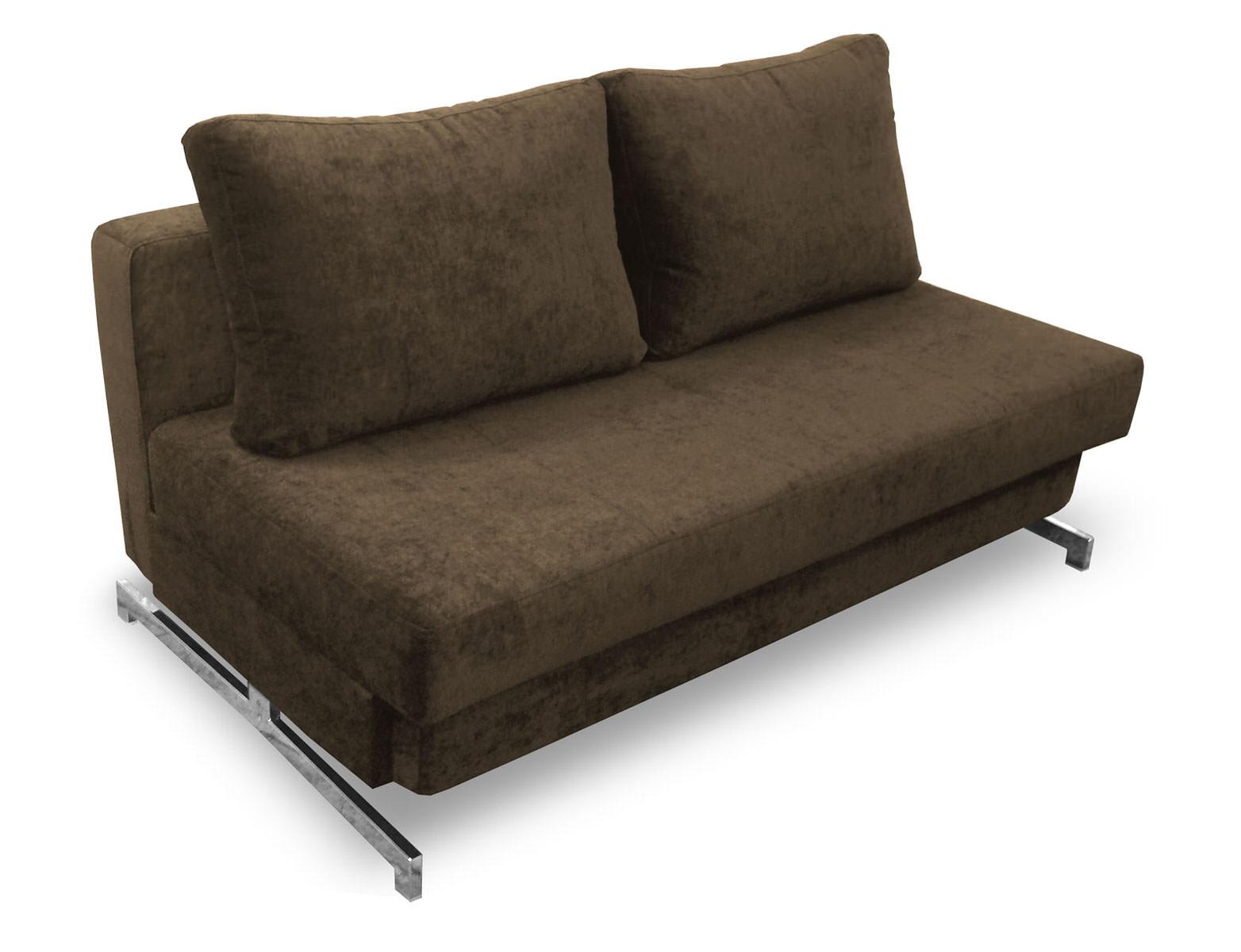 Modern dark brown chenille queen sofa sleeper k43 2 by ido for Sofa 99 euro