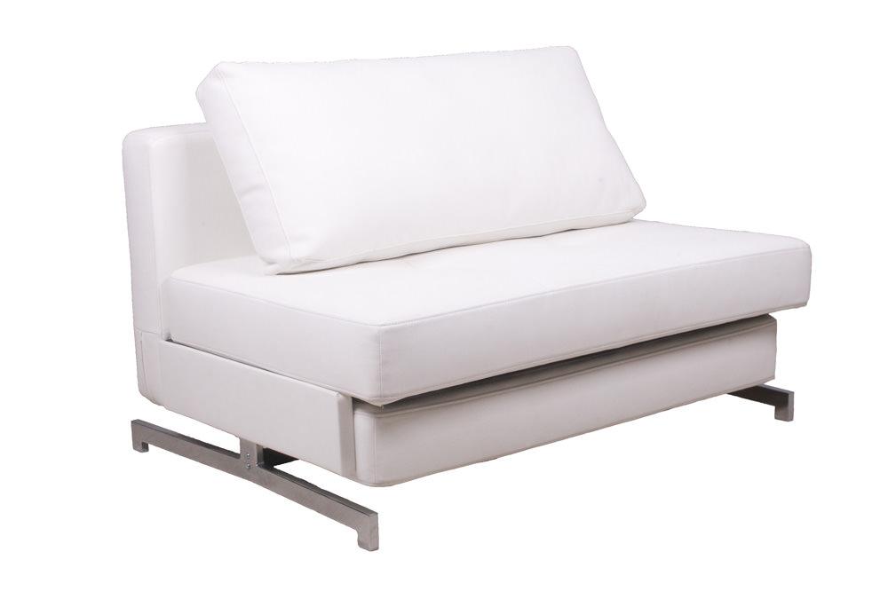modern white leather textile sofa sleeper k43 1 by ido