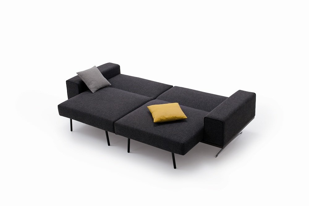 k 56 sofa bed charcoal grey by ido