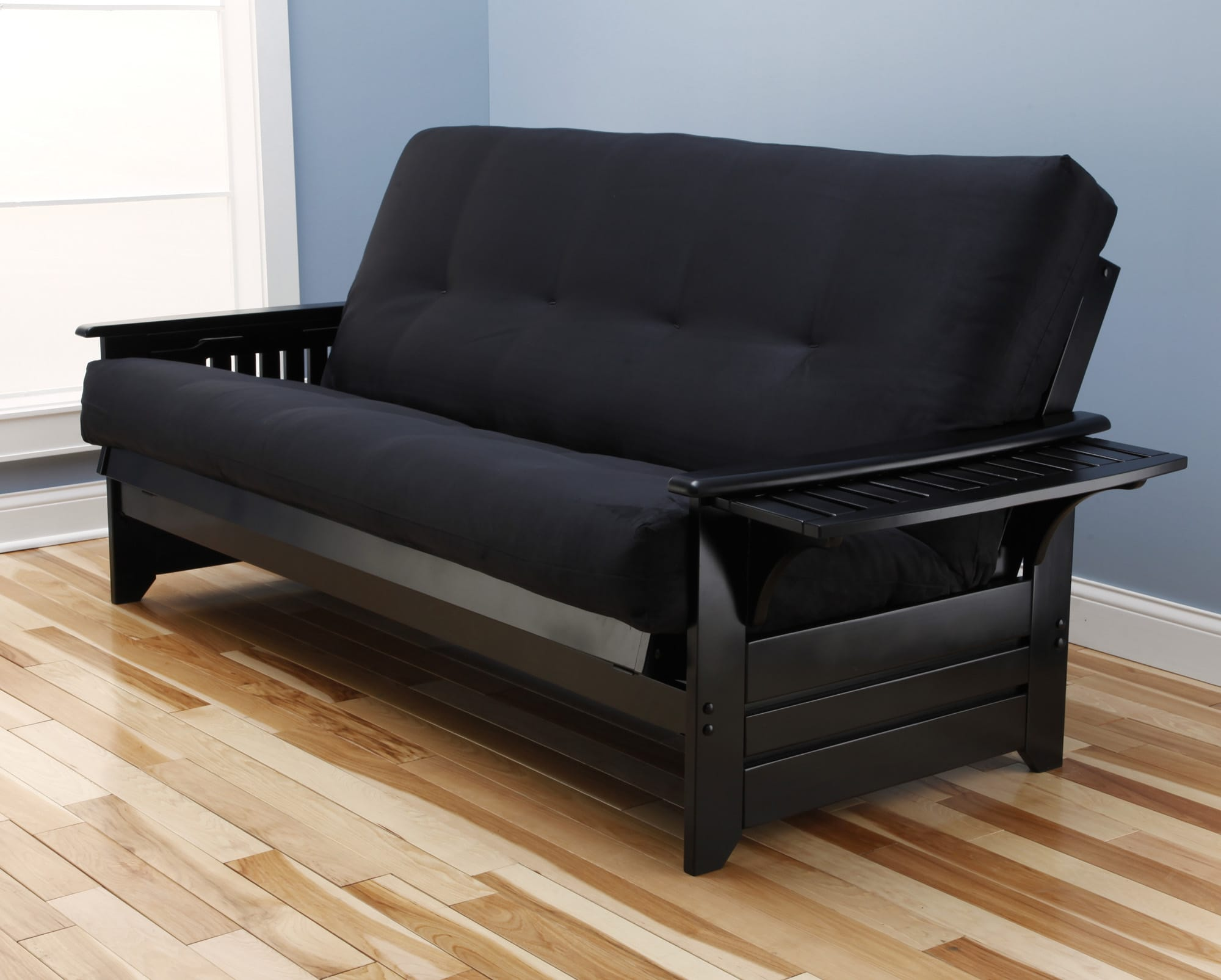 Phoenix Futon Frame Black by Kodiak