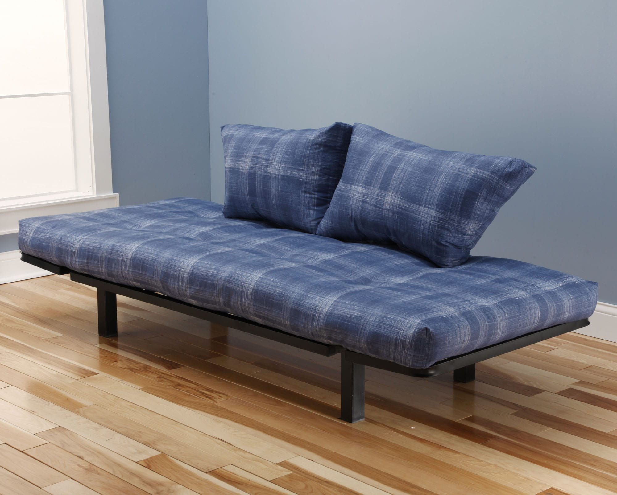 Spacely Futon Daybed Lounger With Mattress Dungaree By Kodiak