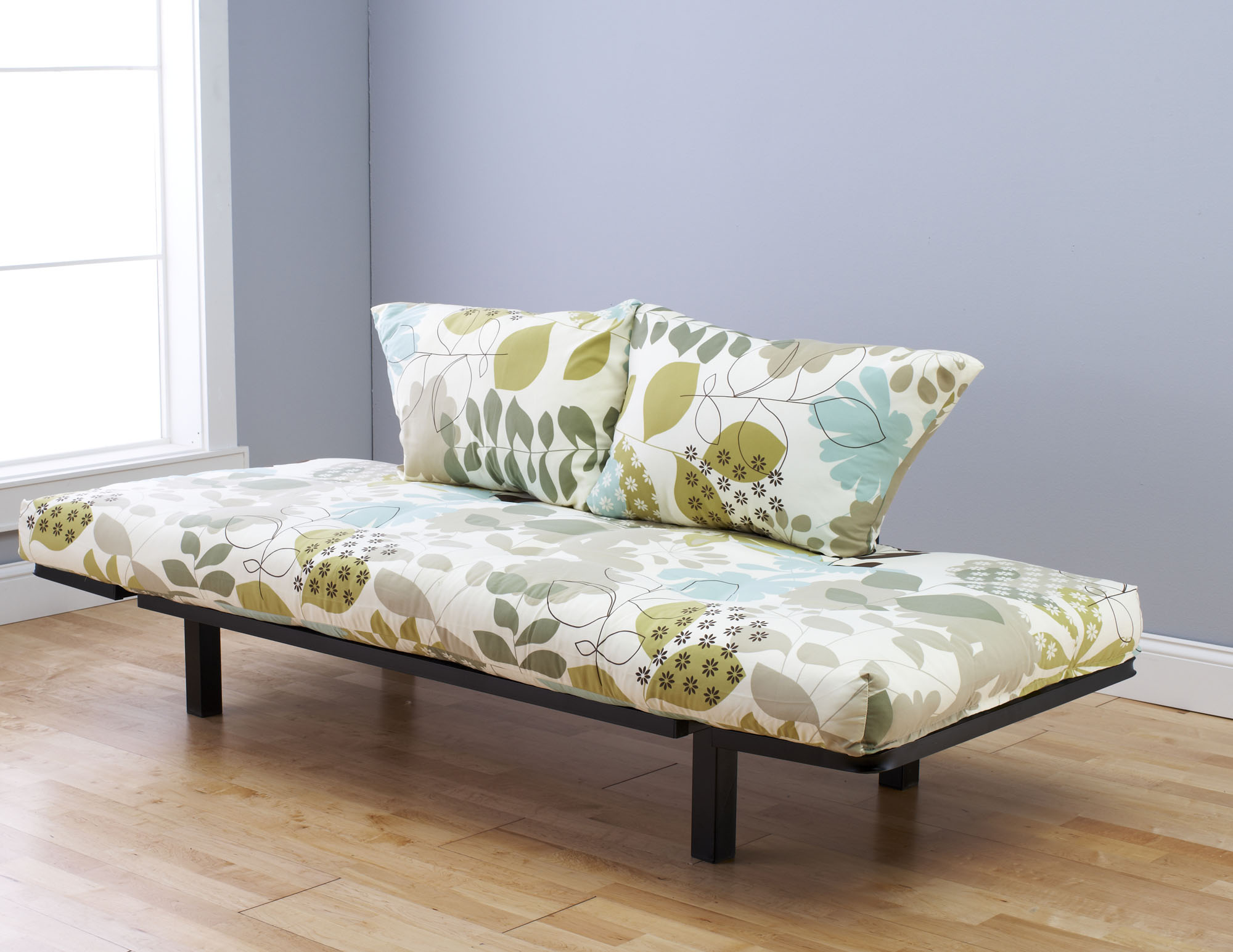 spacely futon daybed lounger with mattress english garden by kodiak  rh   futonland