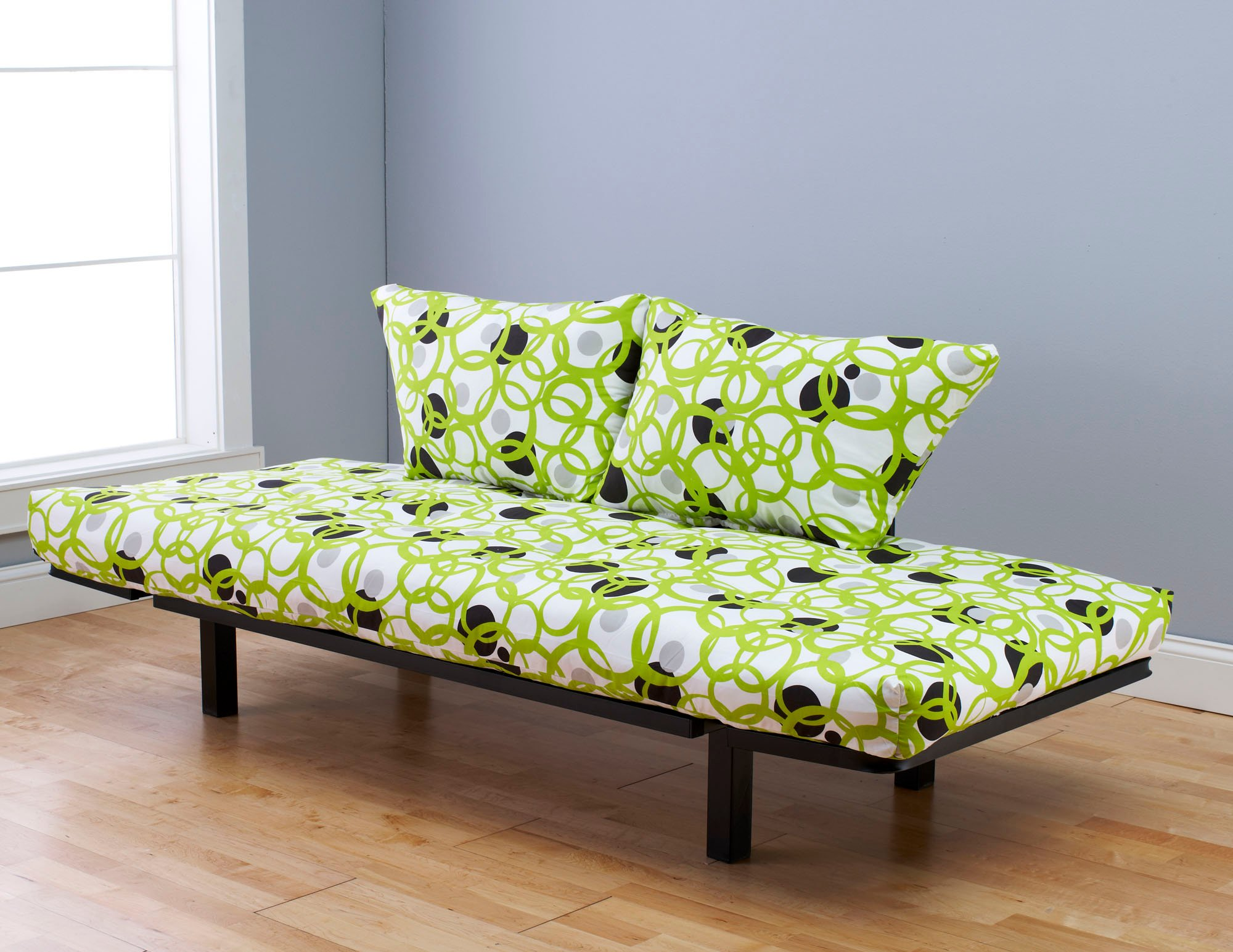 Spacely Futon Daybed Lounger With Mattress Full Circle By
