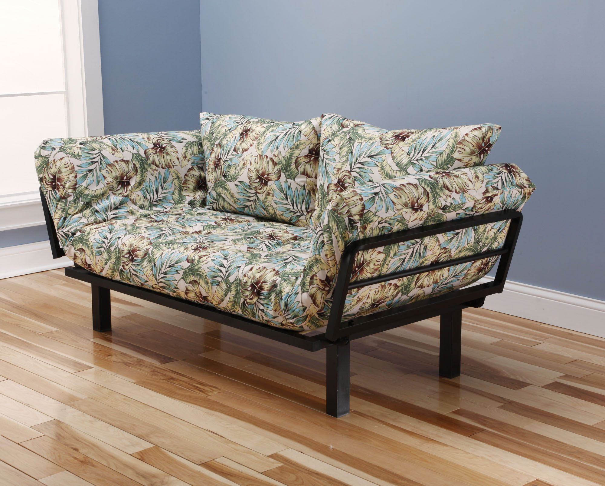 Spacely Futon Daybed Lounger With Mattress Panama Beach By