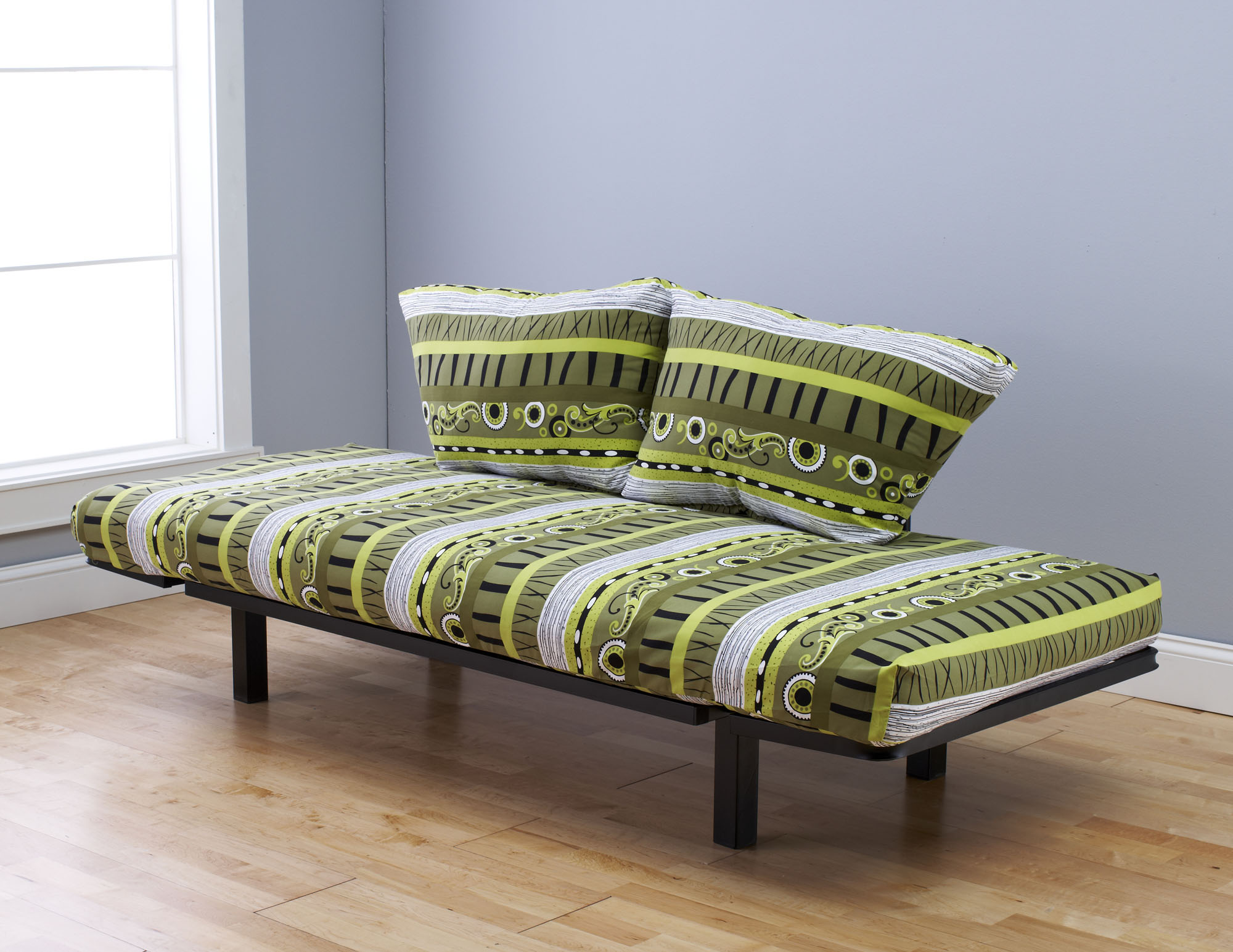 Ely Futon Daybed Lounger With Mattress Radiant Flux By Kodiak