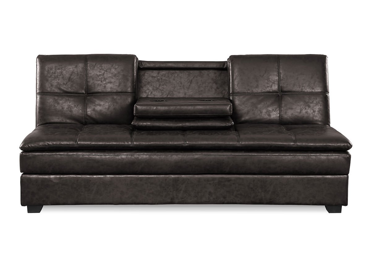 Kingsley Convertible Sofa Midnight Burl By Serta Lifestyle