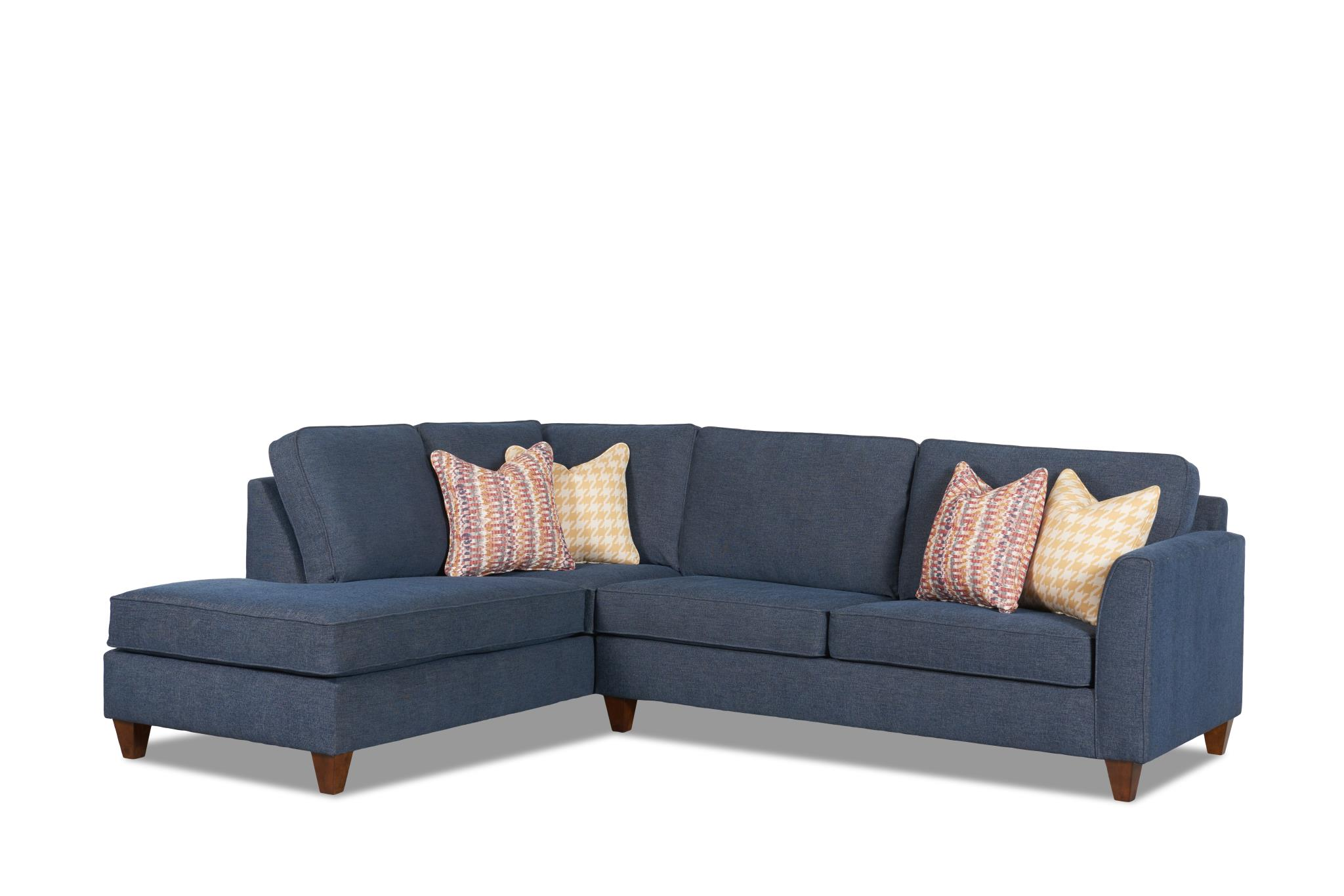 Kooba Sectional Sofa In Shoals Camel By Wood House Upholstery