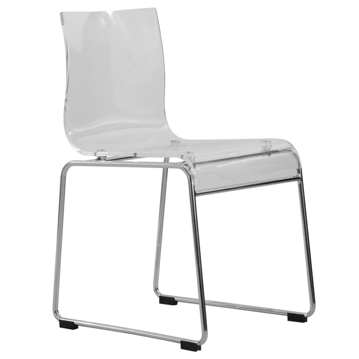 Awe Inspiring Lima Modern Clear Acrylic Chair By Leisuremod Spiritservingveterans Wood Chair Design Ideas Spiritservingveteransorg