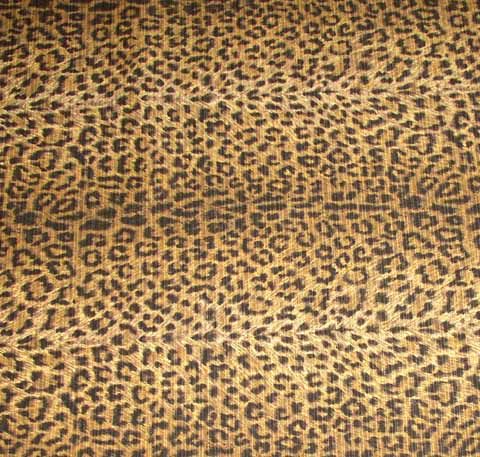 Leopard Futon Cover Full