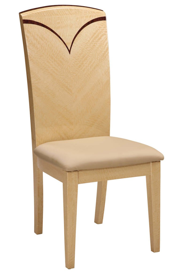 Dining Chair Linda Set of 2 Maple by Global Furniture