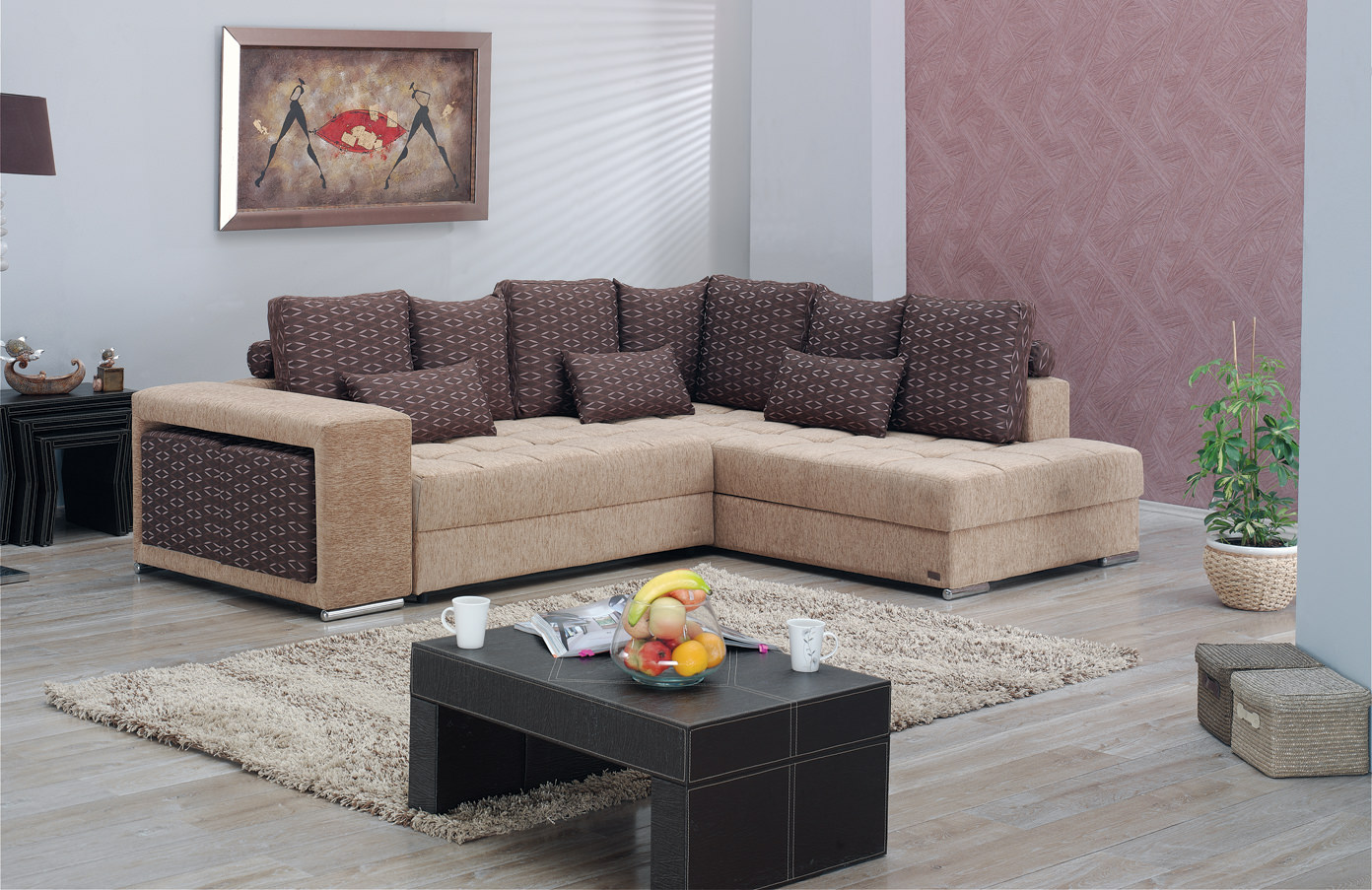 los angeles sectional sofa set by empire furniture usa With sectional sofa in los angeles