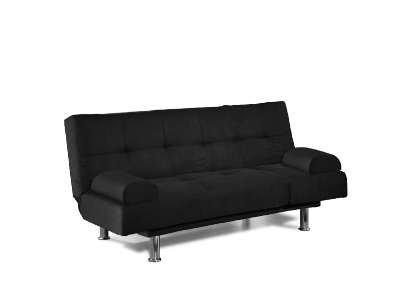 150 Off Tracy Deluxe Black Convertible Sofa By Serta